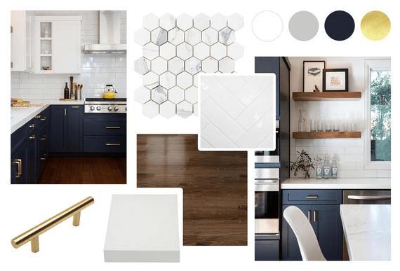 luxury designer kitchens mood board