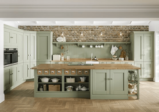traditional kitchen 3