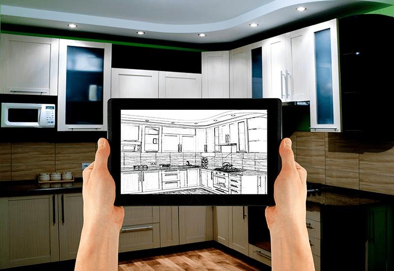 visualiser app kitchen