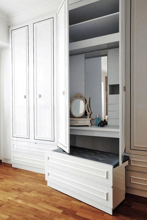 white multipurpose luxury bedroom furniture